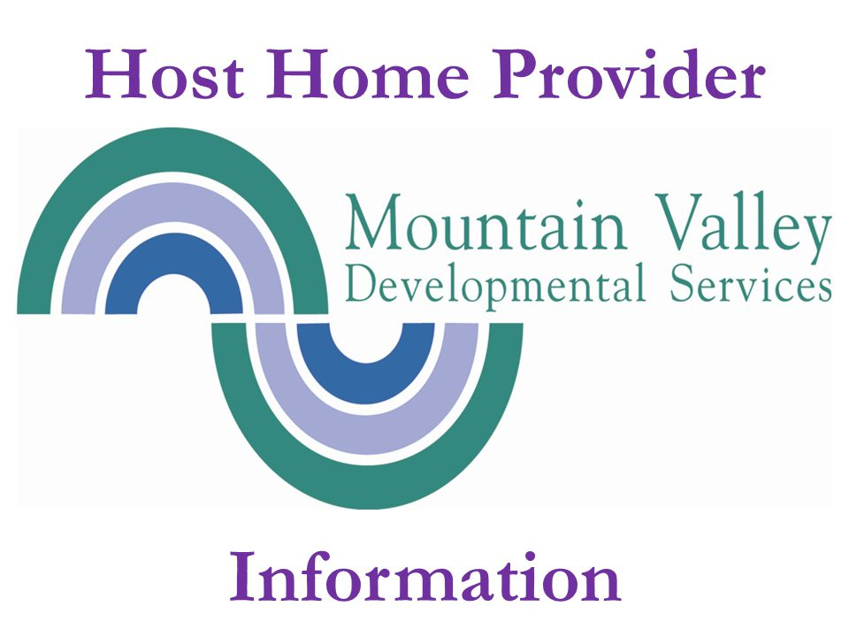 Host Home Provider Information