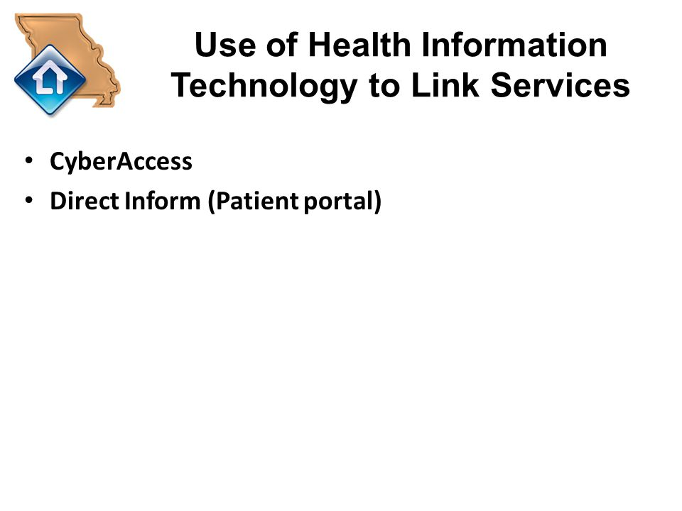 Use of Health Information Technology to Link Services