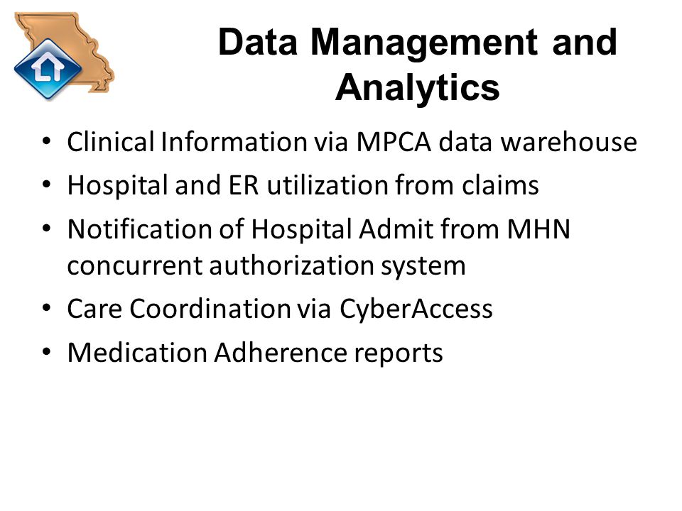 Data Management and Analytics