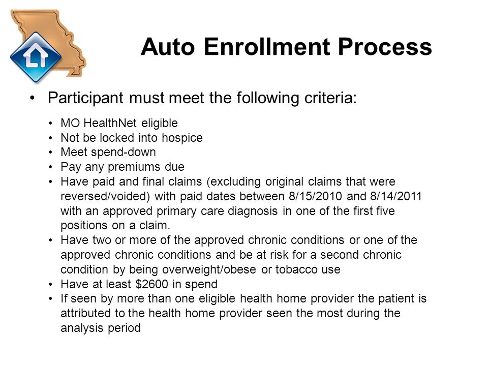 Auto Enrollment Process