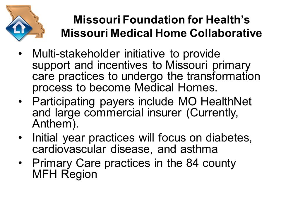 Missouri Foundation for Health's Missouri Medical Home Collaborative