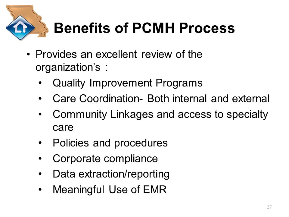 Benefits of PCMH Process