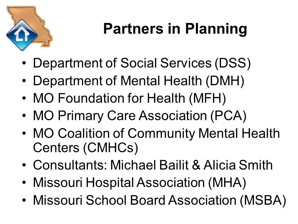 Partners in Planning Department of Social Services (DSS)