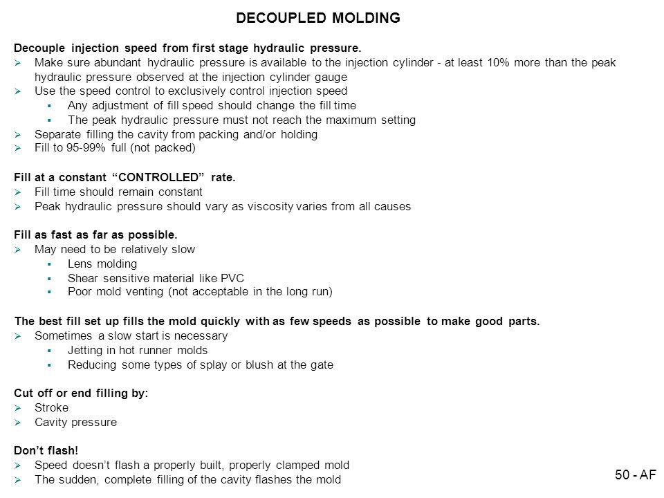 DECOUPLED MOLDINGSM 50 - AF