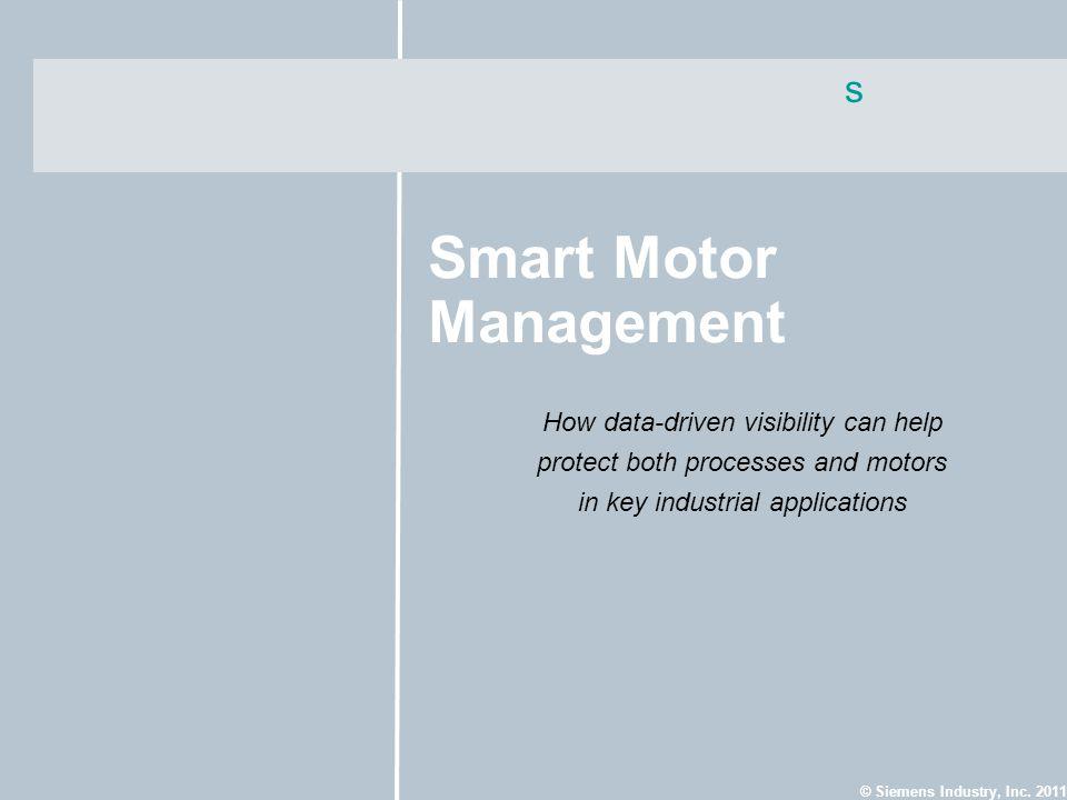 Smart Motor Management