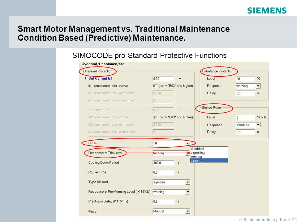 Smart Motor Management vs