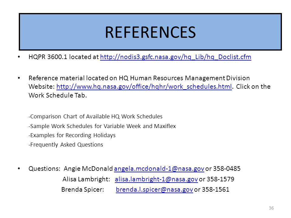 TOOLS REFERENCES. HQPR 3600.1 located at http://nodis3.gsfc.nasa.gov/hq_Lib/hq_Doclist.cfm.