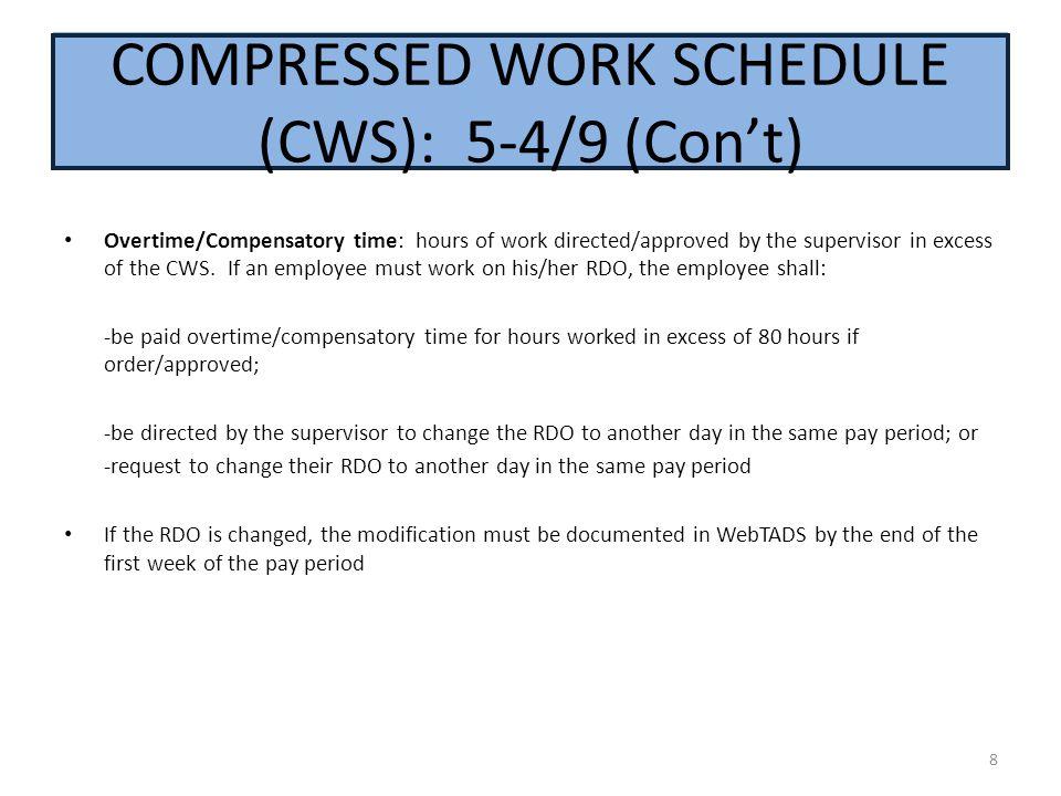 Compressed: 5-4/9 (Con't)