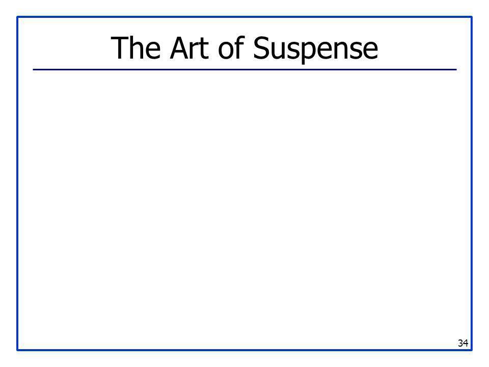 The Art of Suspense