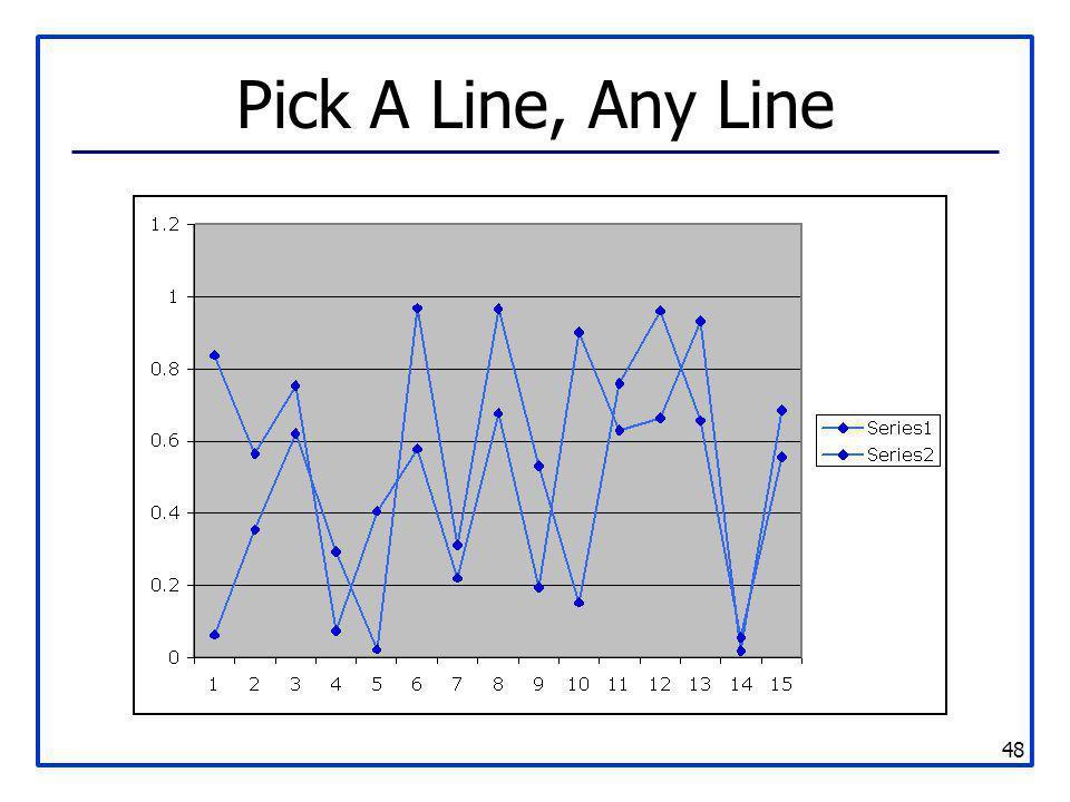 Pick A Line, Any Line