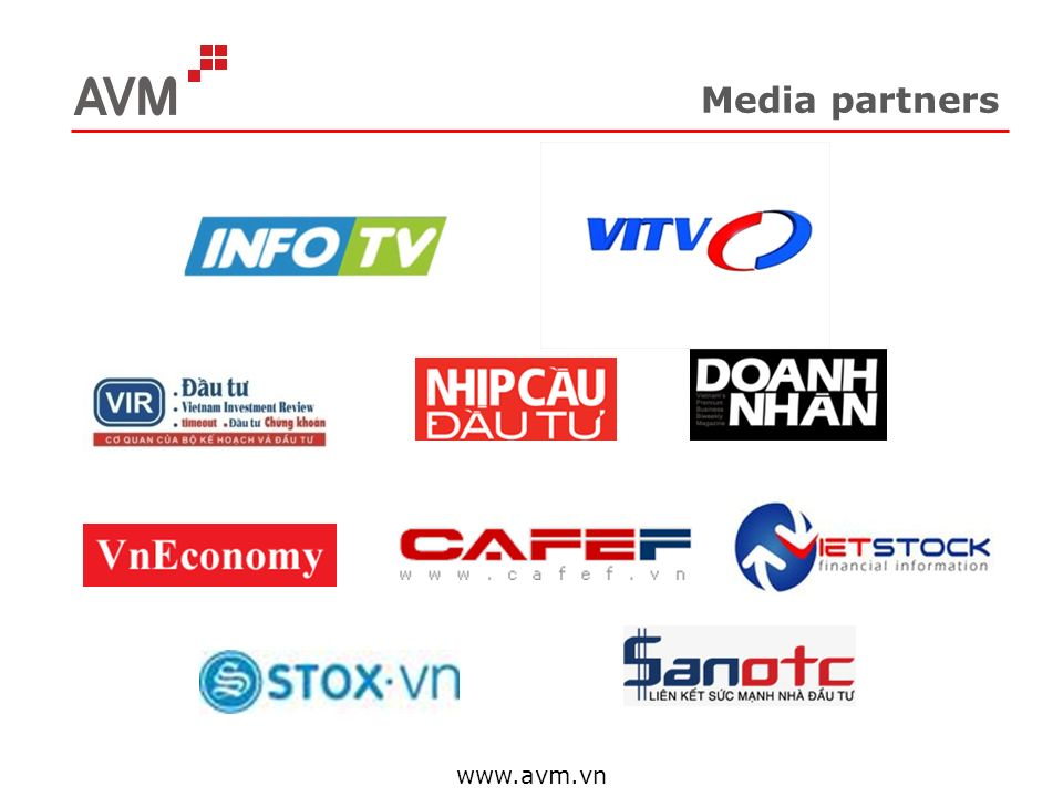 Media partners www.avm.vn