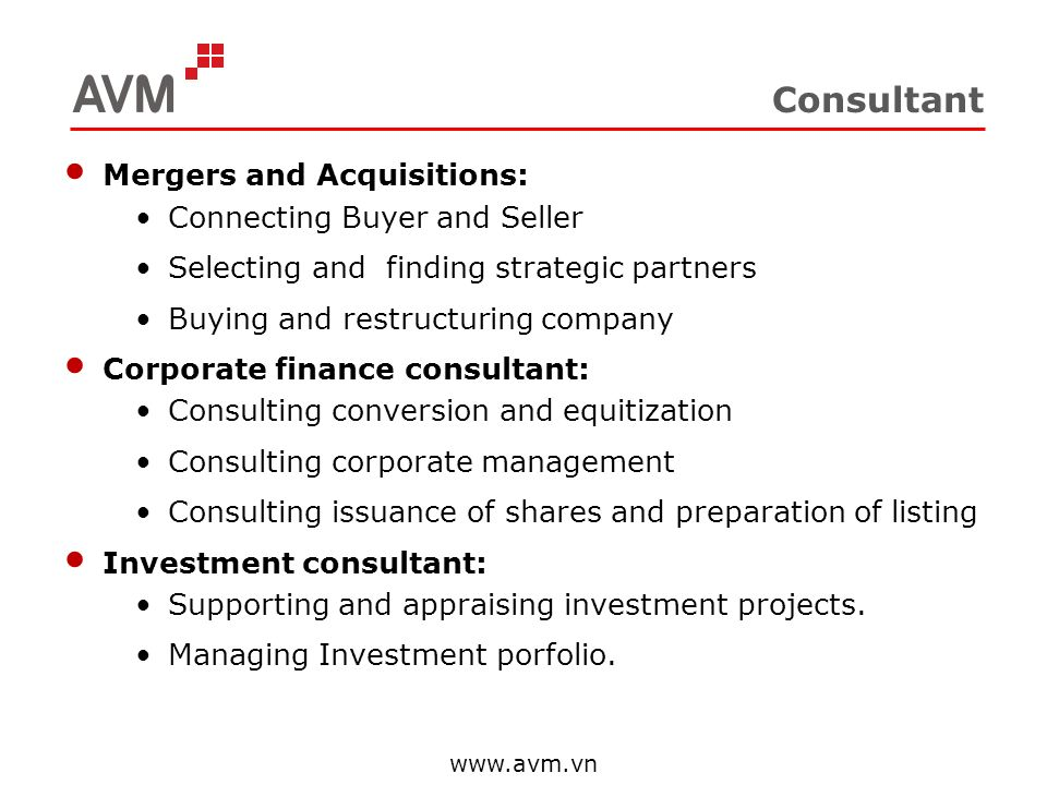 Consultant Mergers and Acquisitions: Connecting Buyer and Seller