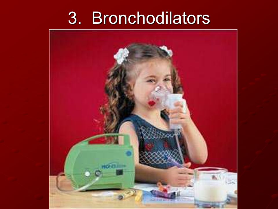 3. Bronchodilators