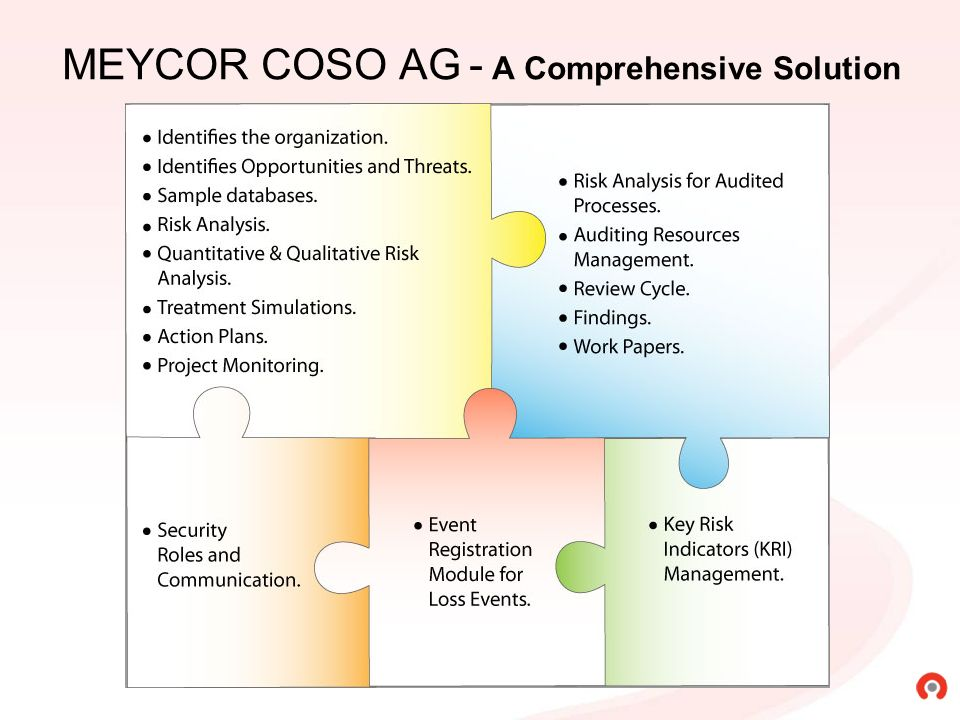 MEYCOR COSO AG - A Comprehensive Solution