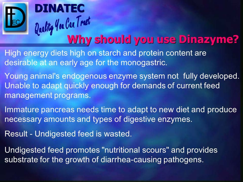 Why should you use Dinazyme