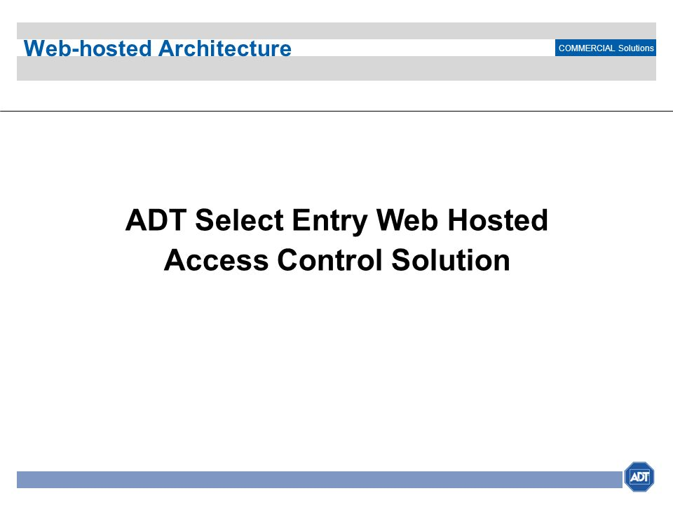 Web-hosted Architecture