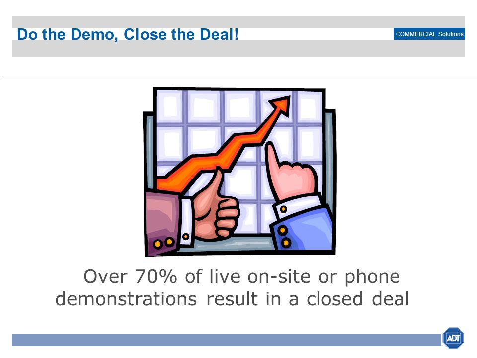 Do the Demo, Close the Deal!