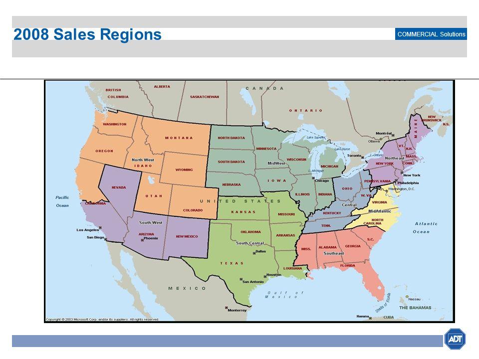 2008 Sales Regions