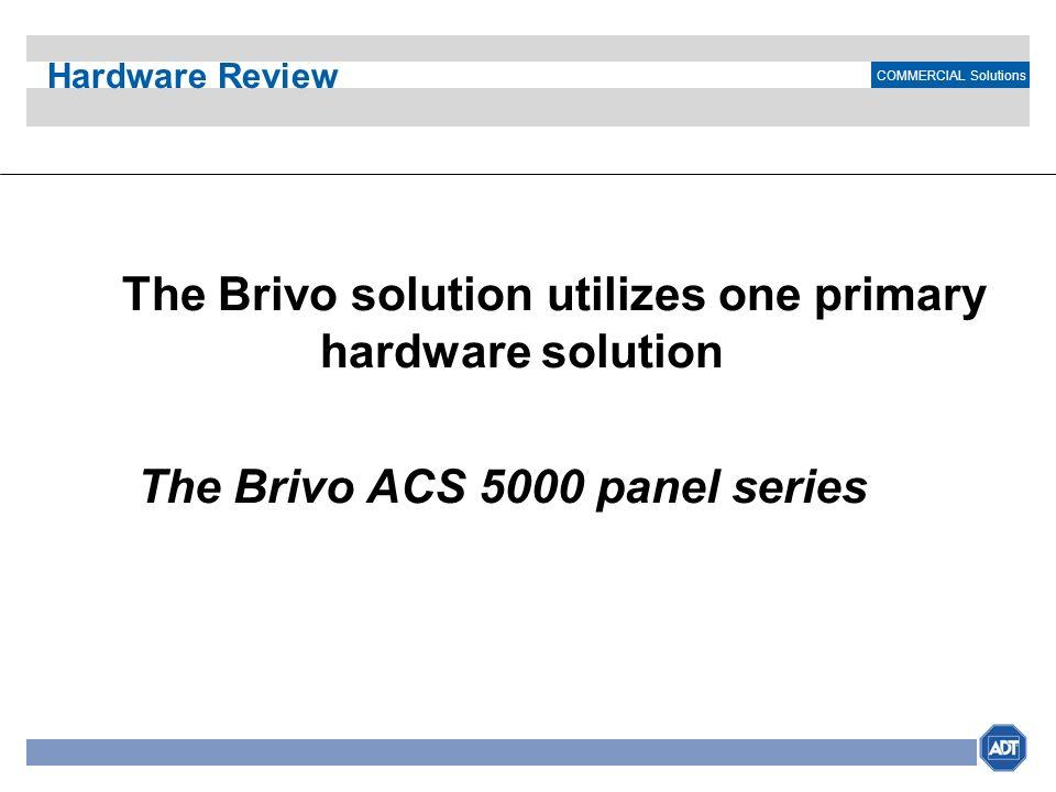The Brivo ACS 5000 panel series