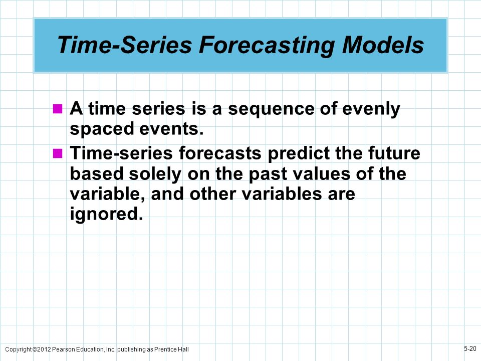 Time-Series Forecasting Models