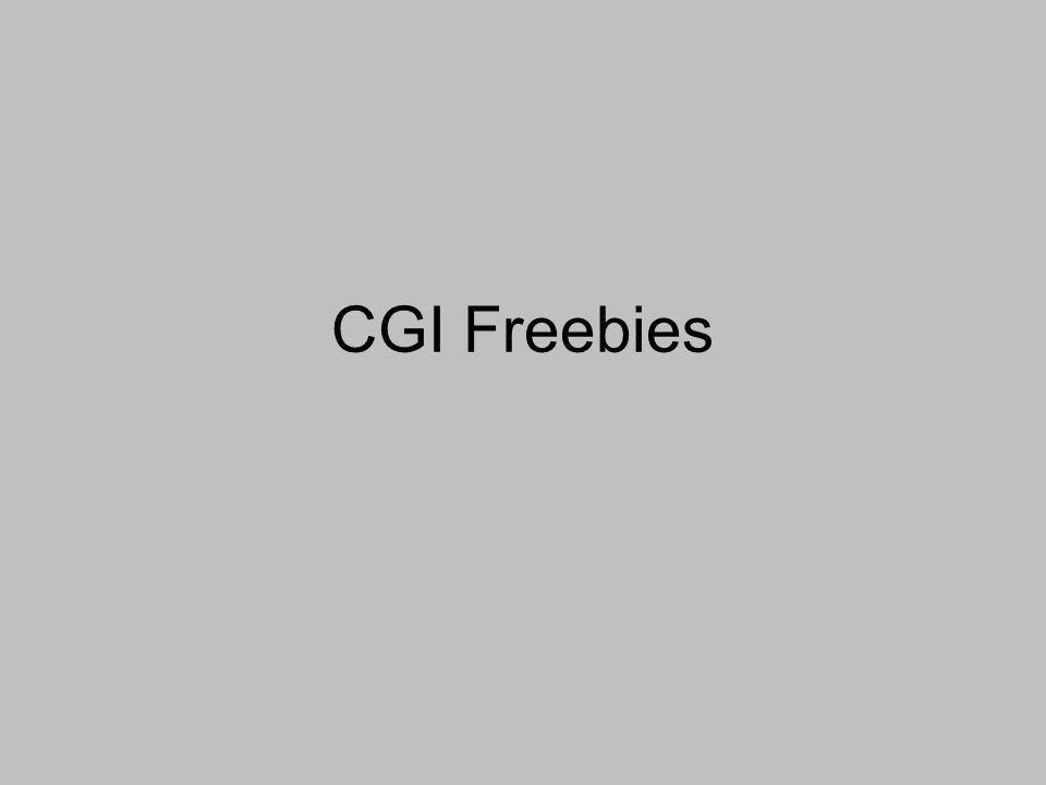 CGI Freebies