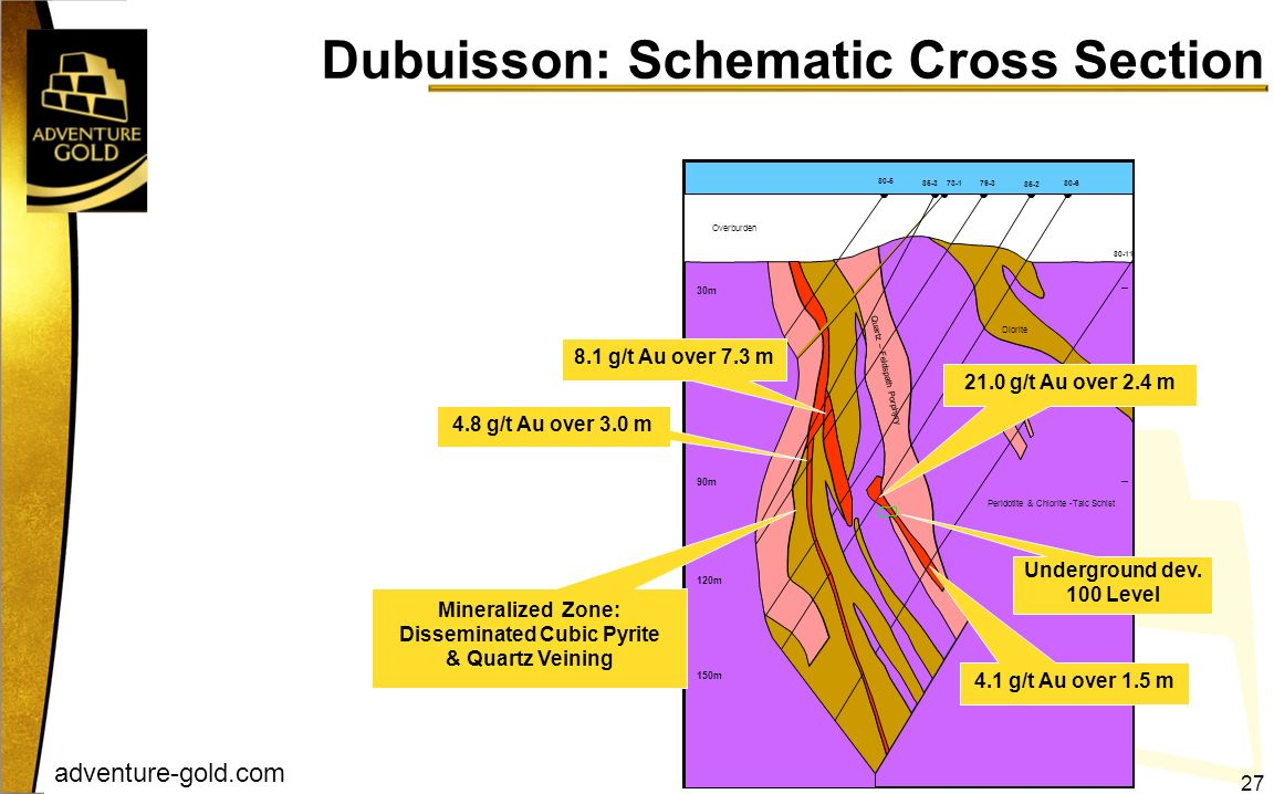 Dubuisson: Schematic Cross Section