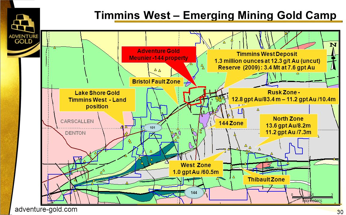 Timmins West – Emerging Mining Gold Camp