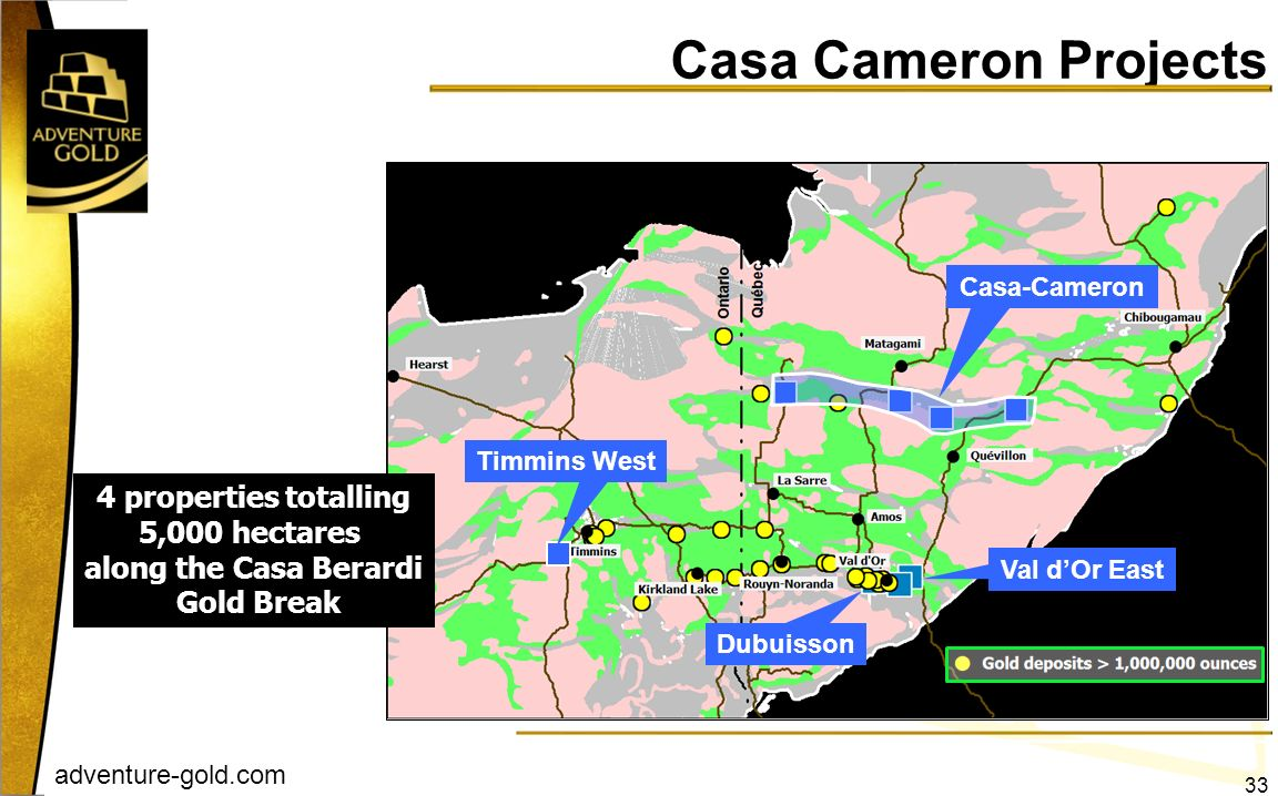 Casa Cameron Projects 4 properties totalling 5,000 hectares