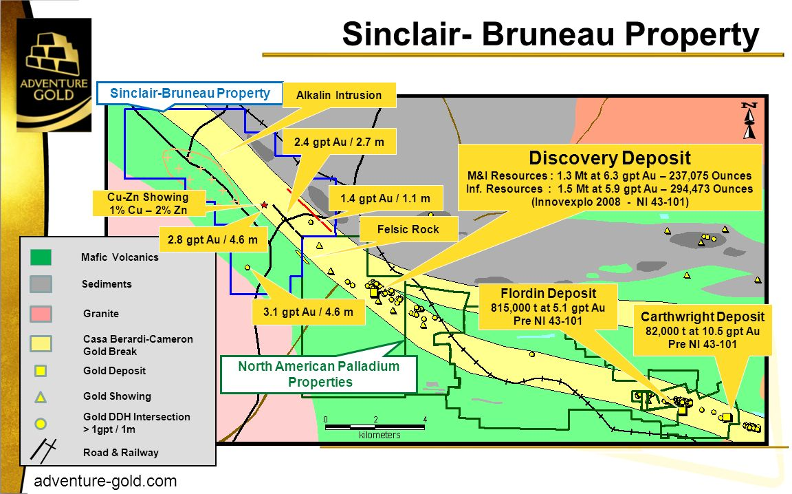 Sinclair- Bruneau Property