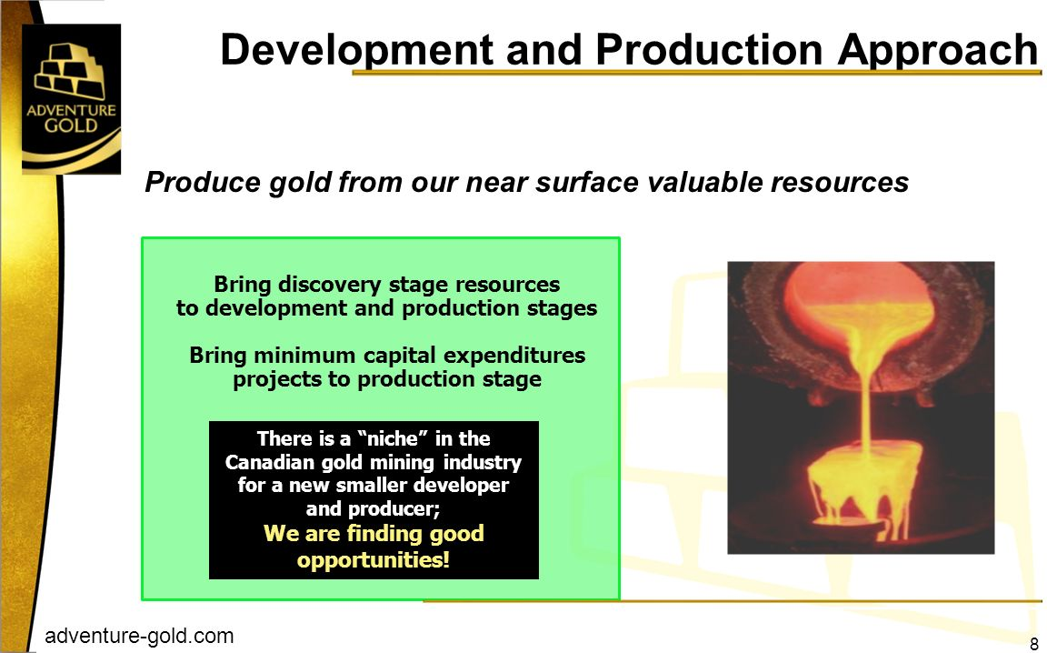 Development and Production Approach