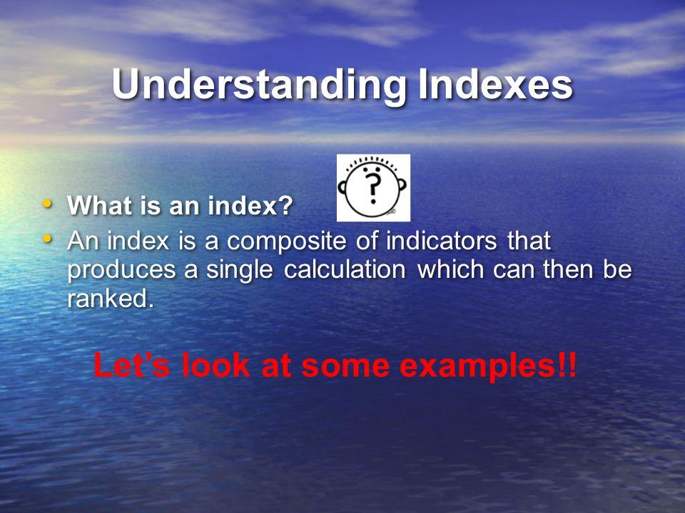 Understanding Indexes