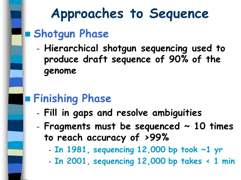 Approaches to Sequence