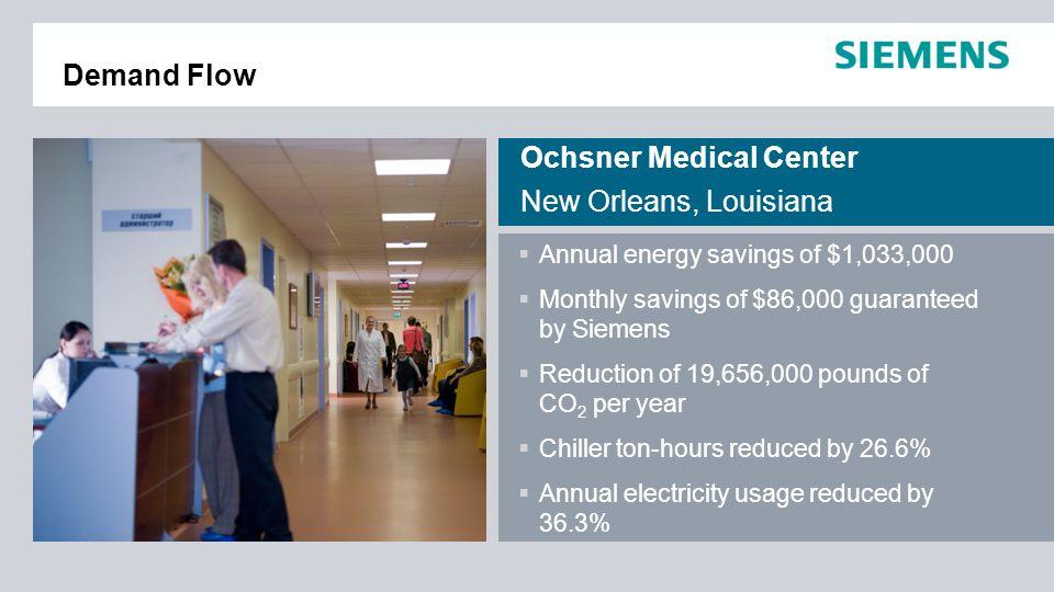 Ochsner Medical Center New Orleans, Louisiana
