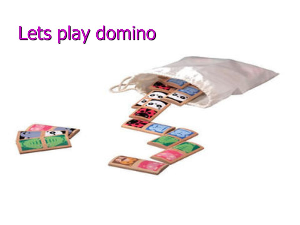 Lets play domino
