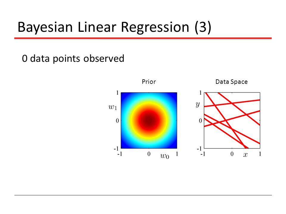 Bayesian Linear Regression (3)