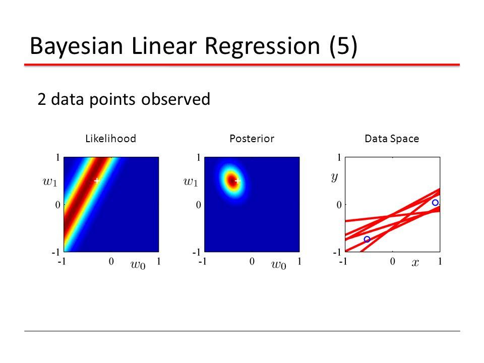 Bayesian Linear Regression (5)