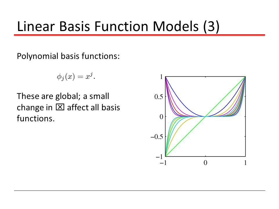 Linear Basis Function Models (3)