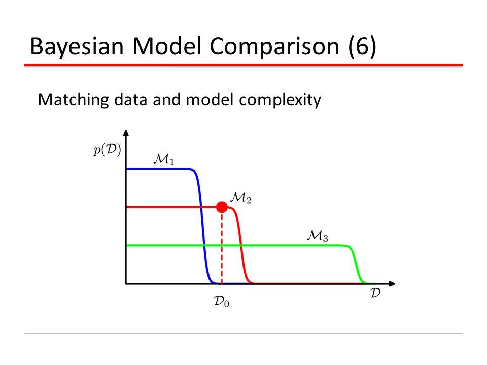 Bayesian Model Comparison (6)
