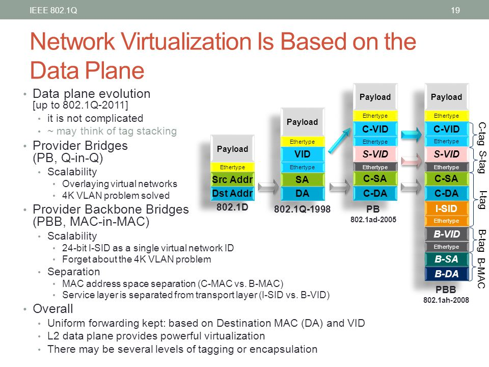 Network Virtualization Is Based on the Data Plane