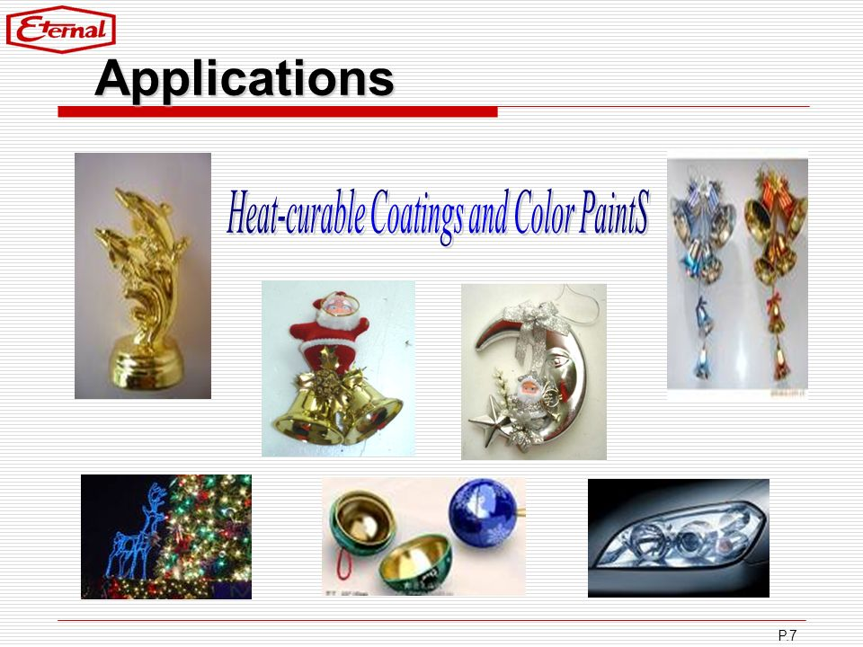 Heat-curable Coatings and Color PaintS
