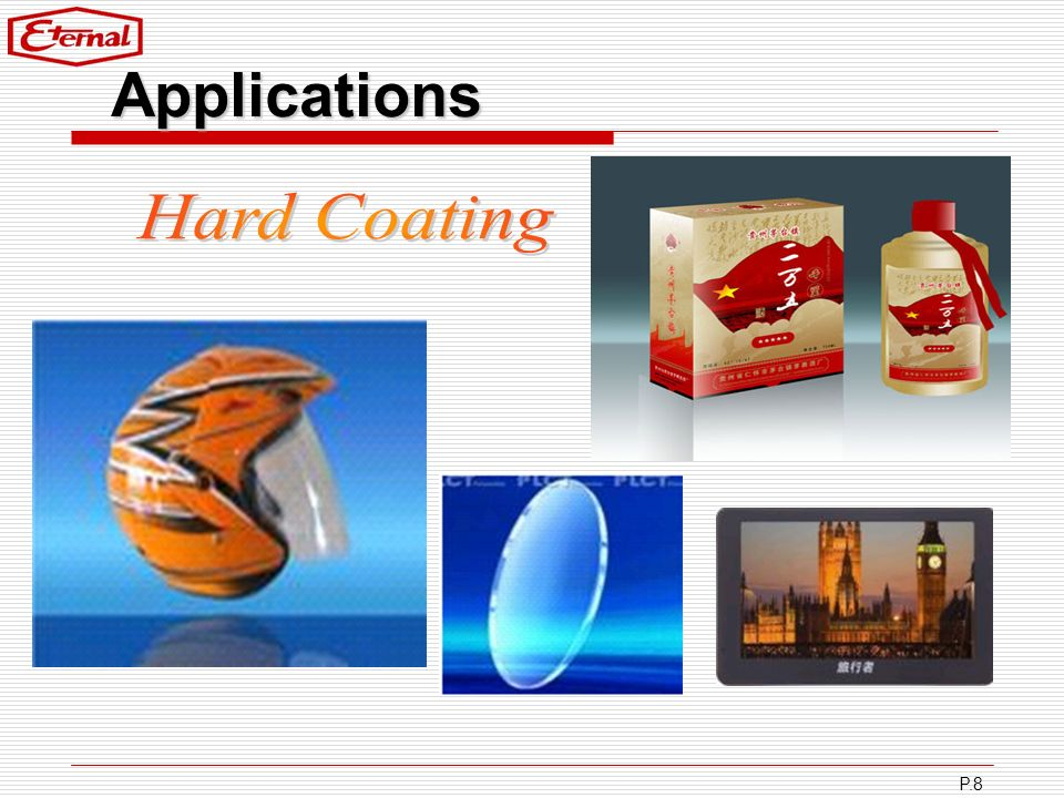 Applications Hard Coating