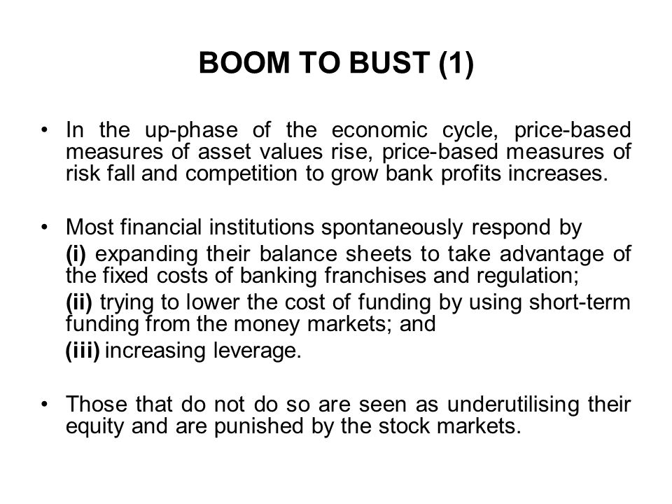 BOOM TO BUST (1)