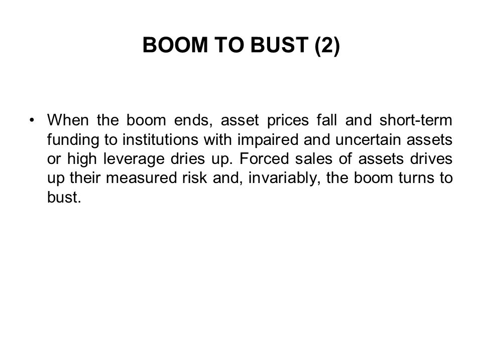 BOOM TO BUST (2)