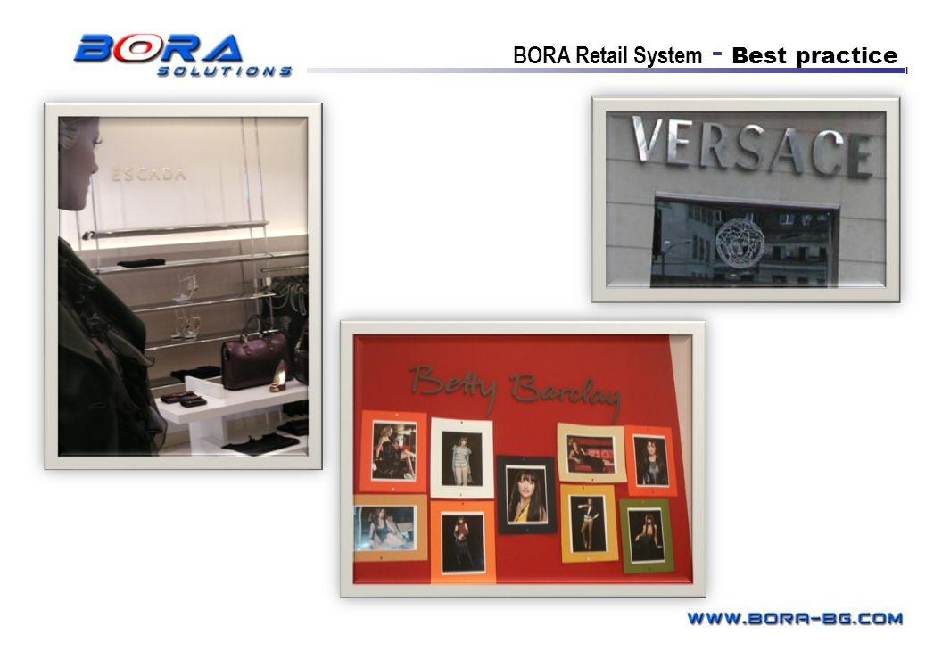 BORA Retail System - Best practice