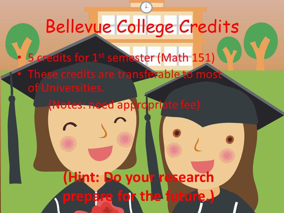 Bellevue College Credits