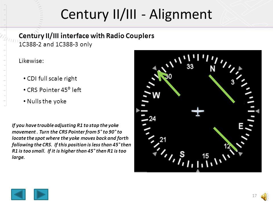 Century II/III - Alignment