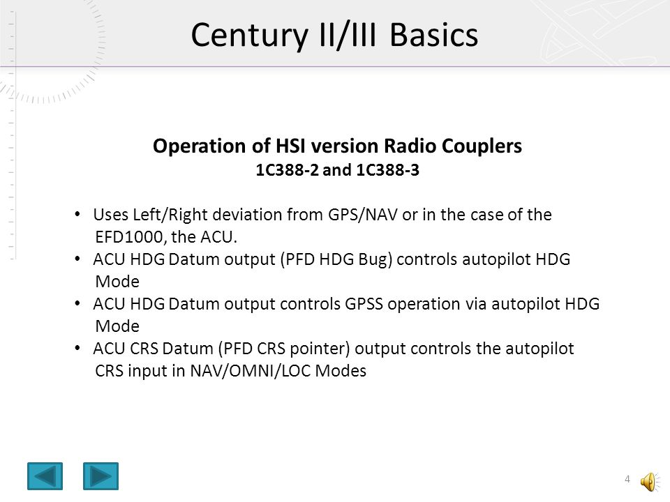 Operation+of+HSI+version+Radio+Couplers efd1000 to century ii iii autopilot interface ppt video online century iv autopilot wiring diagram at readyjetset.co