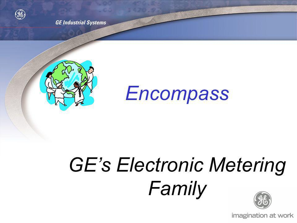 GE's Electronic Metering Family