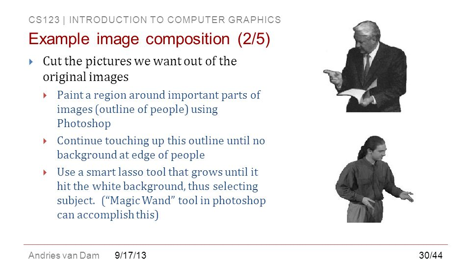 Example image composition (2/5)