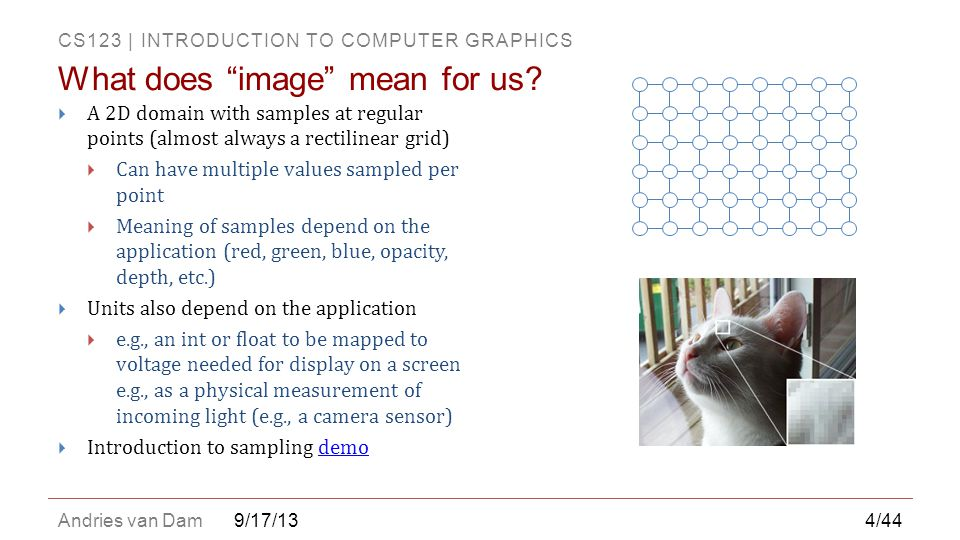 What does image mean for us